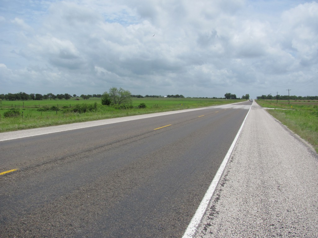 Picture of empty highway.