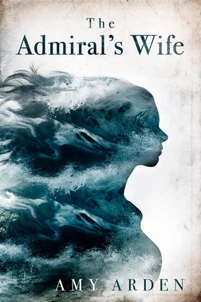 Cover concept for The Admiral's Wife