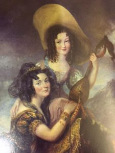 Portrait of Kate with her daughter Elizabeth
