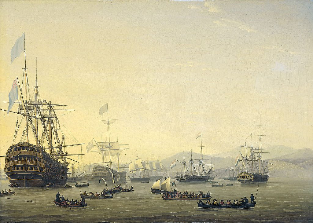 Picture of warship Queen Charlotte
