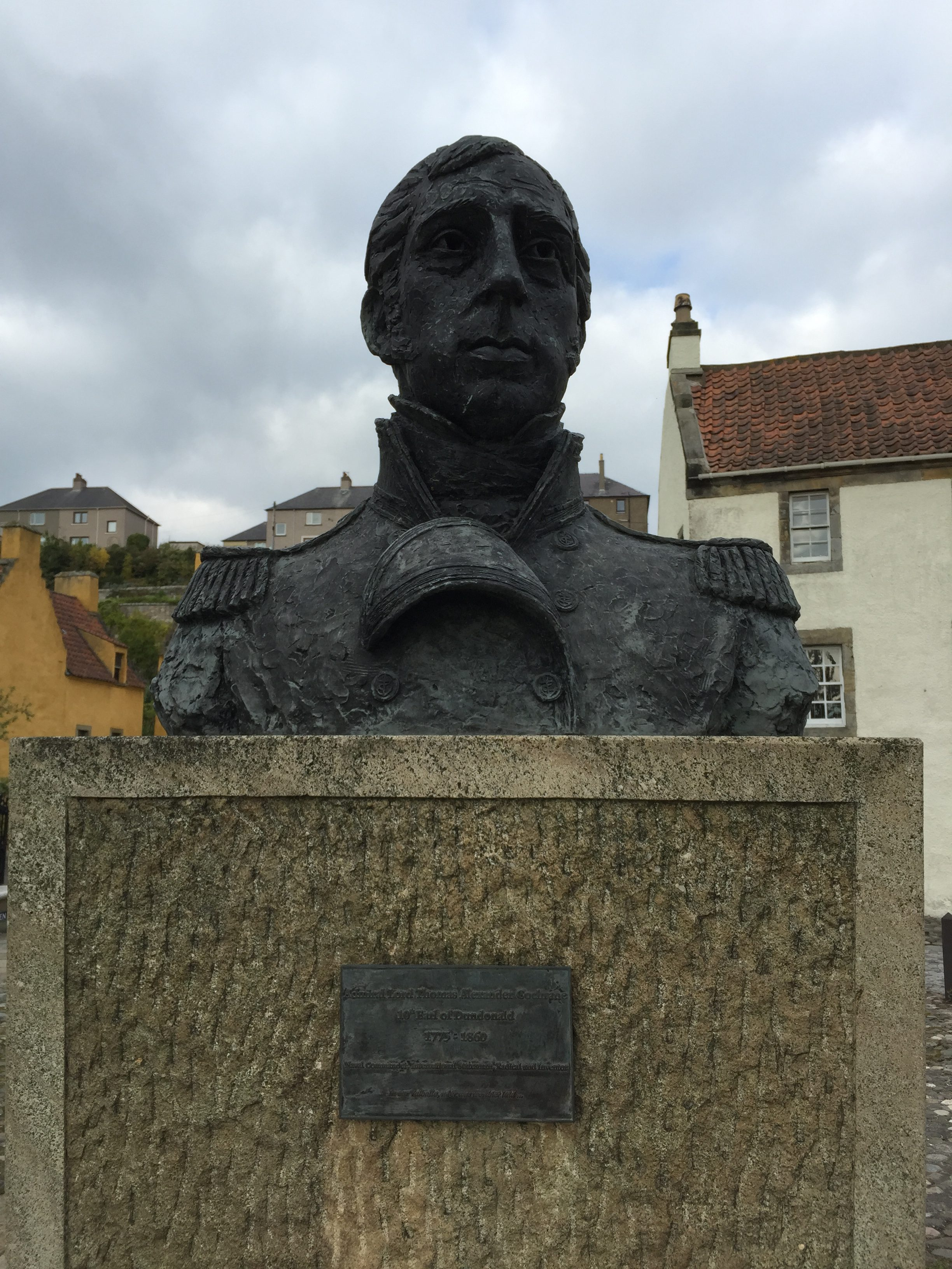 Bust of Admiral Thomas Cochrane